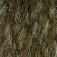 fake fur coyote